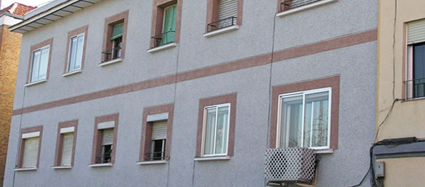 Mortero para fachadas corcho proyectado with mortero para - Fachadas con monocapa ...